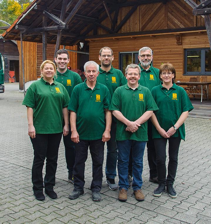 Mitarbeiter von Holz Keespe