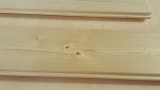 Hobelwaren von Holz Keespe